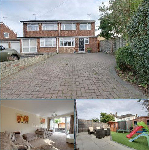 3 bedroom end of terrace house for sale - Hoylake Gardens, Harold Wood, RM3 0RP
