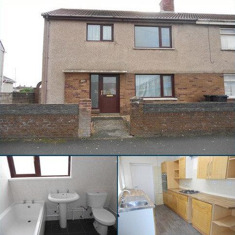 3 bedroom semi-detached house to rent - Fairway , Port Talbot, Neath Port Talbot.