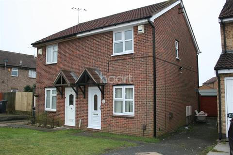 2 bedroom semi-detached house to rent - Barnes Close, Rushey Mead