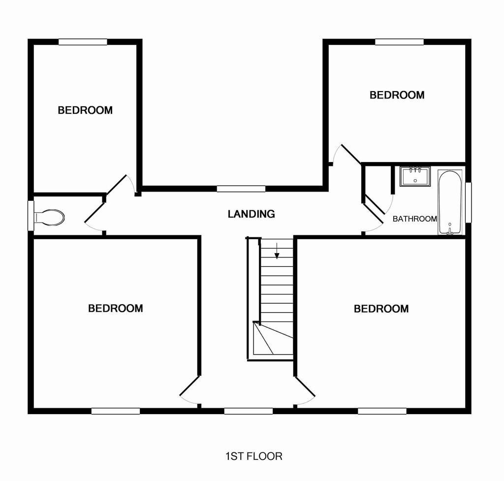 Floorplan Floor 1