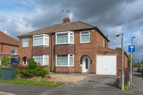 3 bedroom semi-detached house for sale - Manor Park Road, Rawcliffe, York