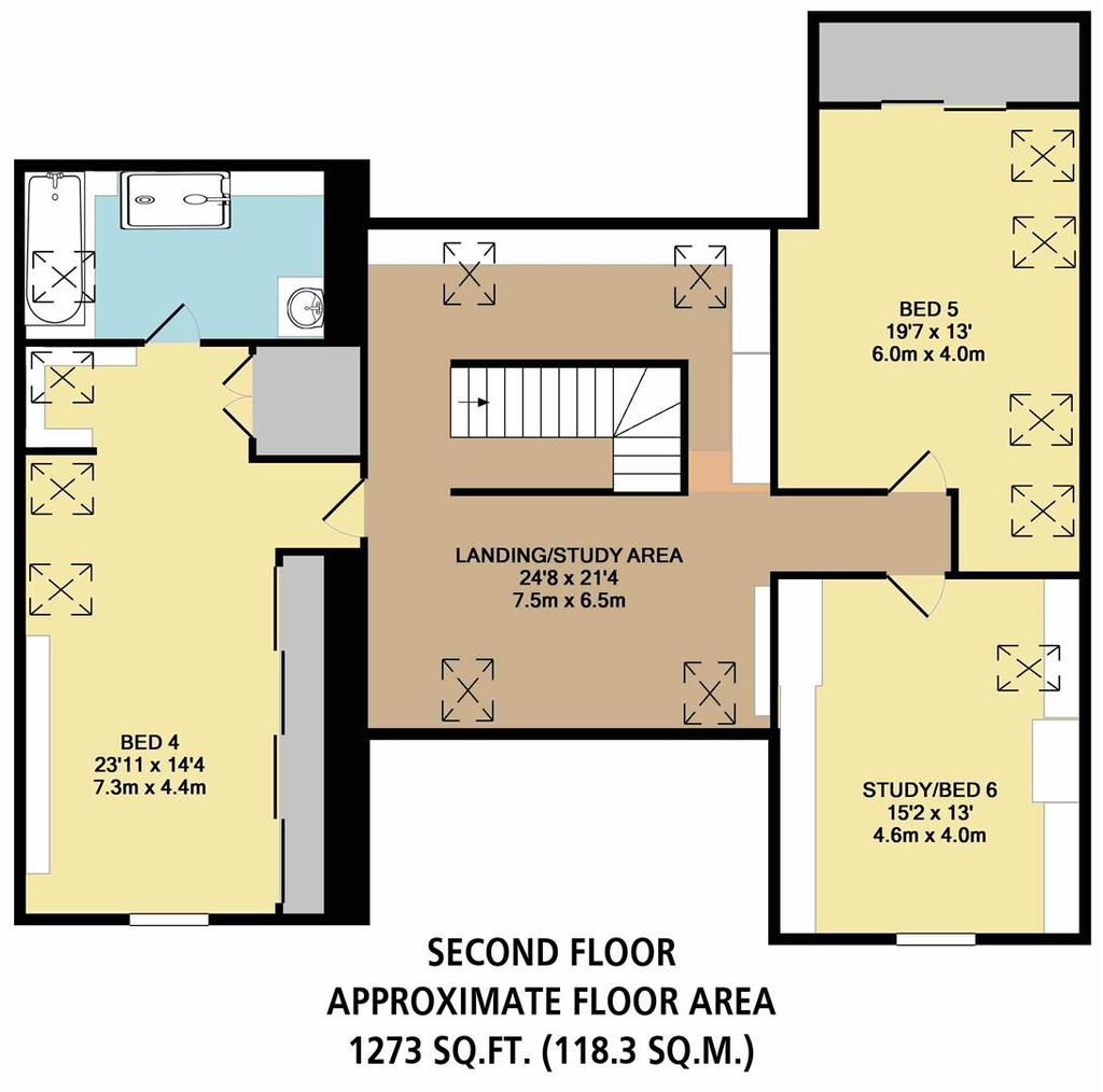 Floorplan 4 of 4: Second Floor