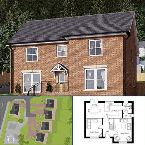 5 bedroom detached house for sale - Banwen Gardens, Alltwen, Pontardawe.