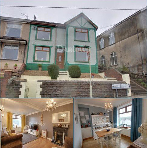 3 bedroom semi-detached house for sale - Mountain Ash Road , Abercynon