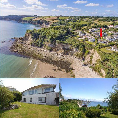 4 bedroom detached house for sale - Porthpean Beach Road, St Austell, Cornwall, PL26