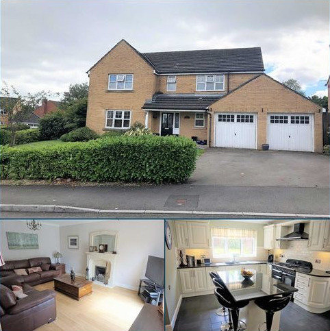 4 bedroom detached house for sale - Home Farm Way, Swansea, SA4