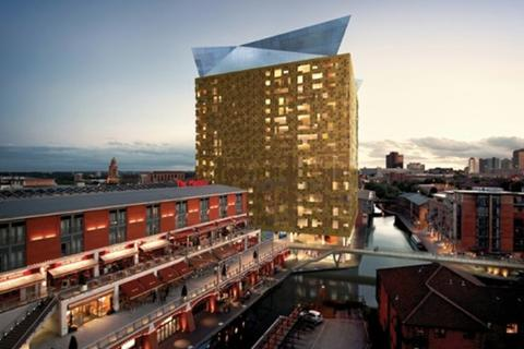 Studio to rent - The Cube West, 197 Wharfside Street
