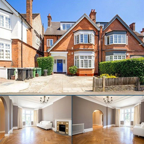 7 bedroom semi-detached house for sale - Crediton Hill, West Hampstead, London, NW6