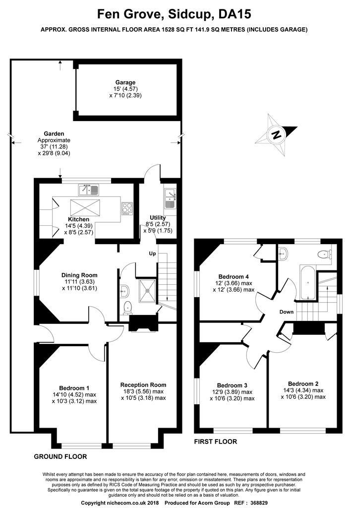Floorplan: Floor plan Fen Grove