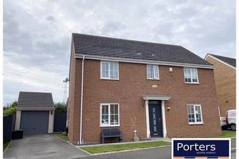 4 bedroom detached house for sale - Heol Y Fronfraith Fawr Broadlands Bridgend CF31 5FR