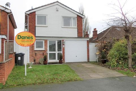 3 bedroom detached house for sale - Overton Close, Hall Green, Birmingham