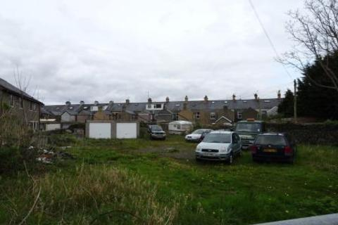 Plot for sale - Smith Street, Porthmadog