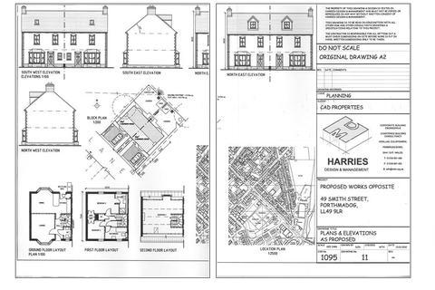 Land for sale - Smith Street, Porthmadog