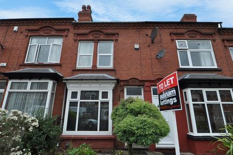 2 bedroom terraced house to rent - Selsey Road, Edgbaston, Birmingham, B17