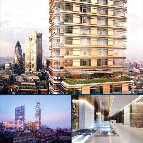 1 bedroom flat for sale - Principal Tower, 115 Worship Street, City, London, EC2A