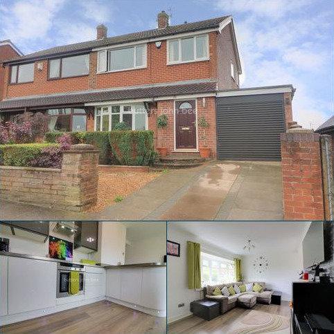 3 bedroom semi-detached house for sale - Westonfields Drive, Westonfields, ST3 5JQ