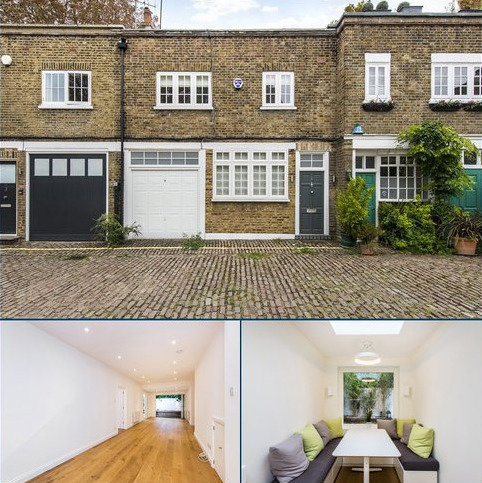 3 bedroom mews for sale - Northwick Close, London, NW8