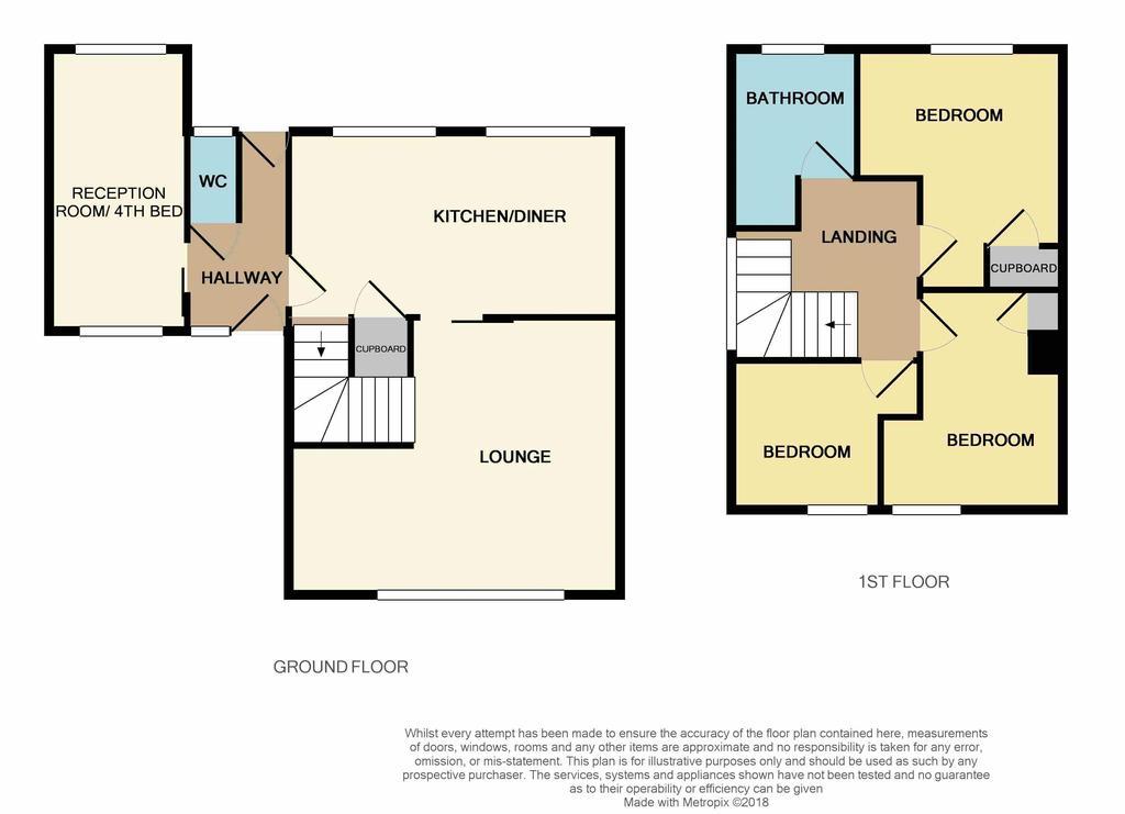 Floorplan: 43 Roslyn Close