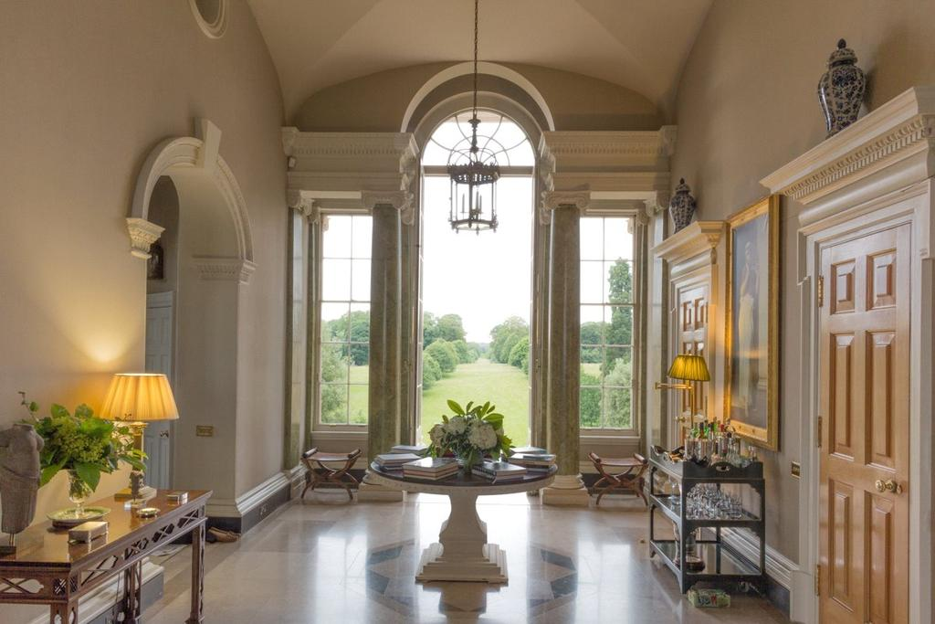 An Exquisite Neo Classical Country House Executed In