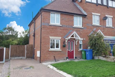 3 bedroom end of terrace house for sale - Lowther Crescent, Middleton, Manchester, M24