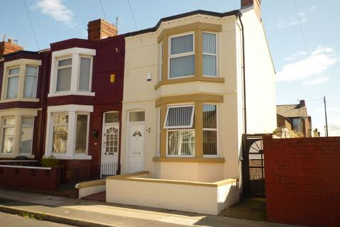 3 bedroom end of terrace house to rent - Gonville Road, Bootle, Liverpool, L20