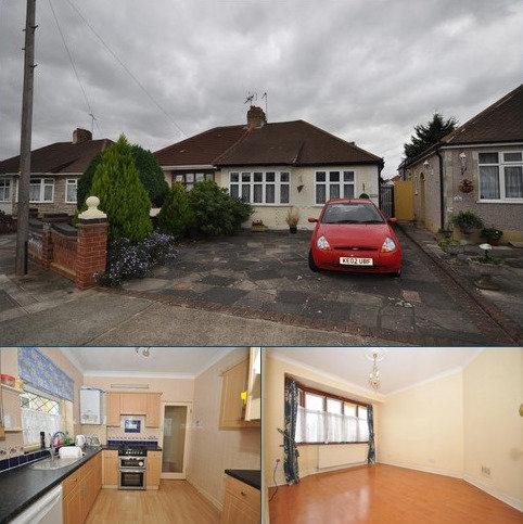 2 bedroom semi-detached bungalow for sale - Goodwood Avenue, Hornchurch, Essex, RM12