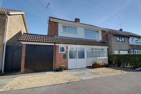 3 bedroom detached house for sale - Tysoe Hill, Glenfield, Leicester