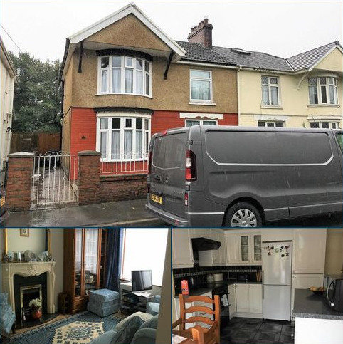3 bedroom semi-detached house for sale - Elba Crescent, Swansea, SA1