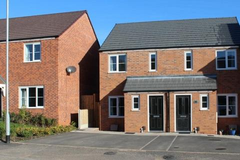 2 bedroom semi-detached house for sale - 52 Greenfields Drive, Newport, Shropshire, TF10 7FF