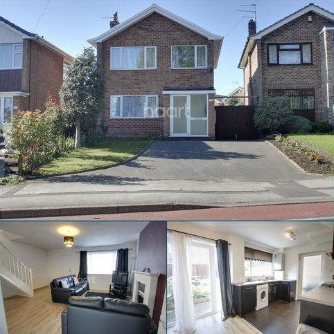 3 bedroom detached house for sale - Annesley Road, Hucknall