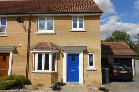 3 bedroom end of terrace house to rent - Falcon Grove, Stowmarket IP14