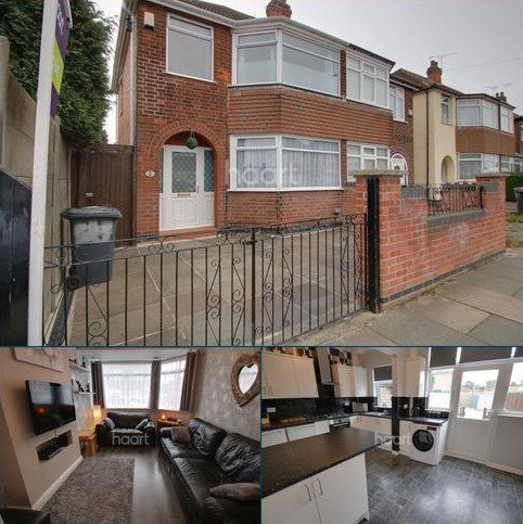 3 bedroom semi-detached house for sale - Trenant Road, Leicester