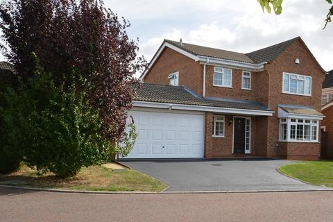 4 bedroom detached house for sale - Wisley Close, East Hunsbury, Northampton