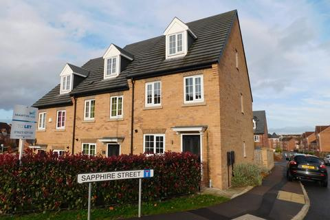 3 bedroom townhouse to rent - Sapphire Street, Mansfield