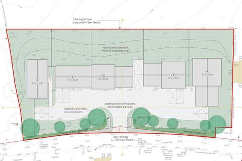 Plot for sale - Trethurgy, Nr. St Austell, Cornwall