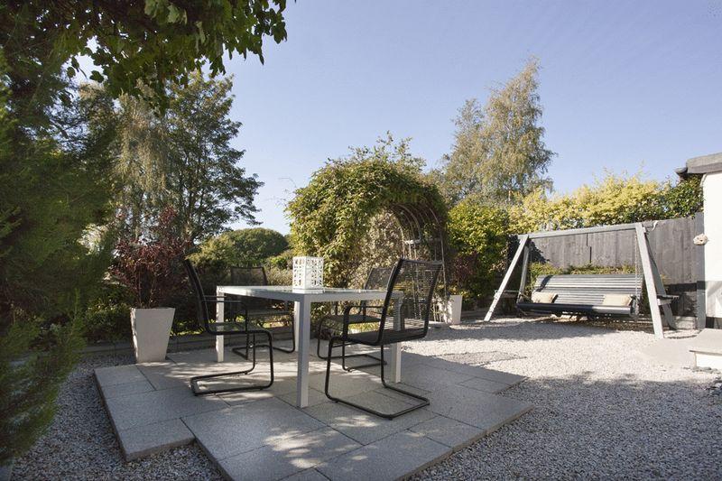 Rear patio area...