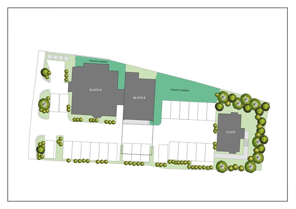 Site plan and car park
