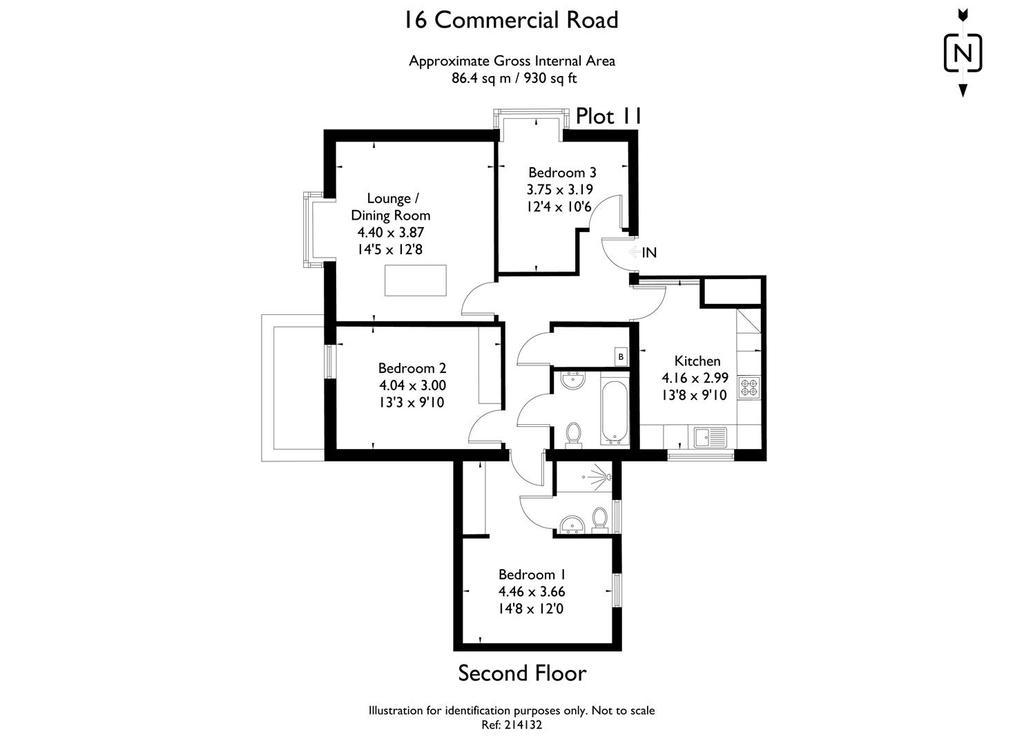 Floorplan: 16 Commercial Road 214132 fp  Plot 11.jpg