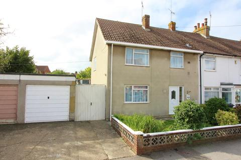 3 bedroom end of terrace house for sale - Mead Road, South Willesborough, Ashford, TN24 0BS