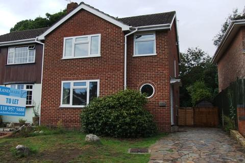 3 bedroom semi-detached house to rent - Nightingale Road, Woodley