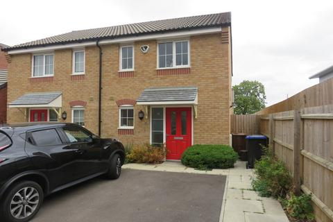 2 bedroom semi-detached house for sale - Damselfly Road, Northampton, NN4
