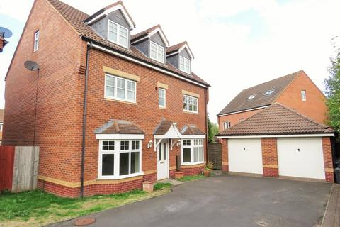 5 bedroom detached house for sale - Wagstaff Way, Marston Green