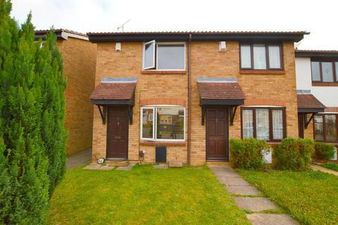 2 bedroom end of terrace house for sale - Hawkfields, Bushmead, Luton, Bedfordshire, LU2 7NW