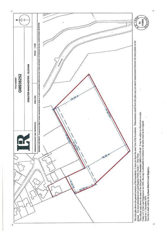 Plan Of House/Land