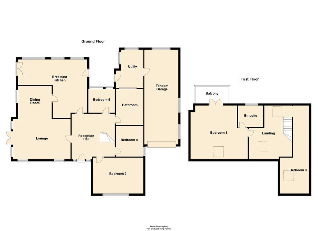 Floorplan 2 of 2: Ground / First...