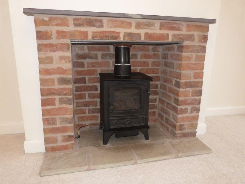 Gas Stove In Living