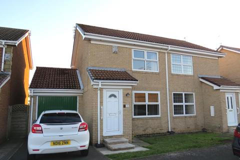 2 bedroom semi-detached house for sale - Fallowfield Way, Fallowfield Estate, Ashington