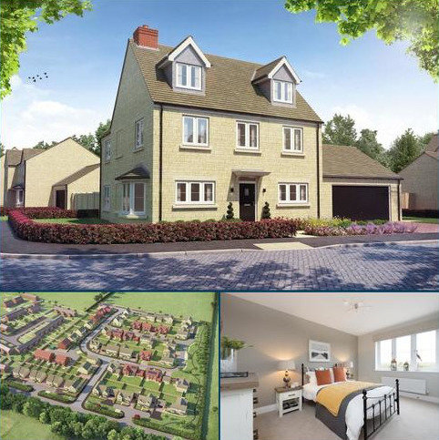 4 bedroom detached house for sale - The Oatvale, Vanbrugh Meadows, Long Hanborough, Witney, Oxfordshire