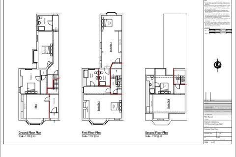 1 bedroom house to rent - Beverley Road , Hull,