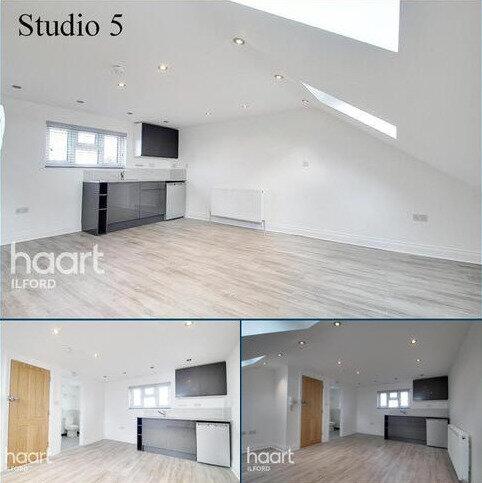 Studio to rent - Ilford, IG3